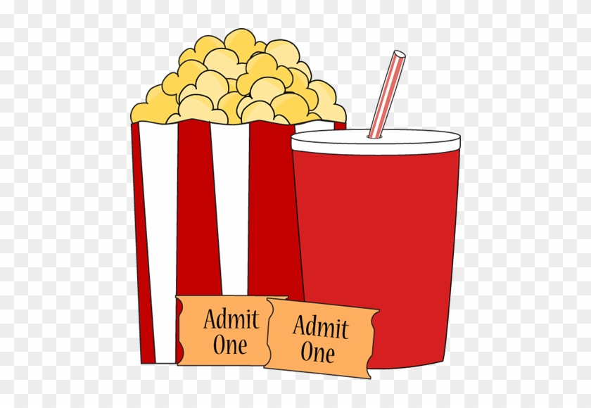 Movie And Popcorn Clipart & Free Clip Art Images #20928.