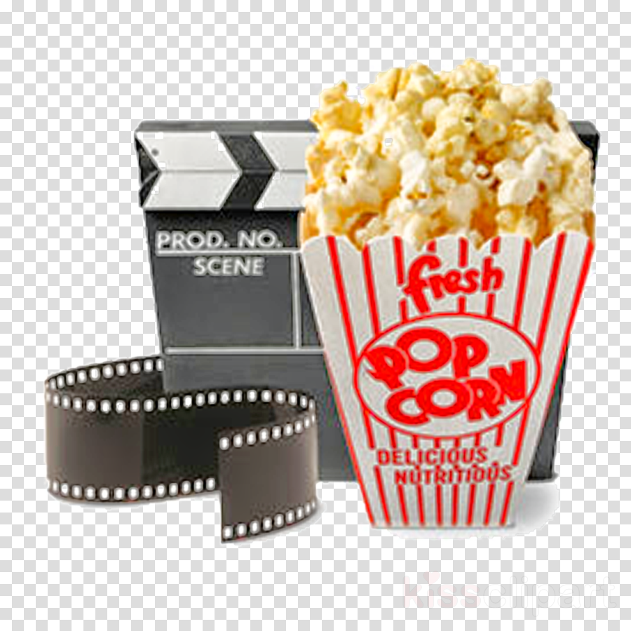 Popcorn Clipart Cinema.