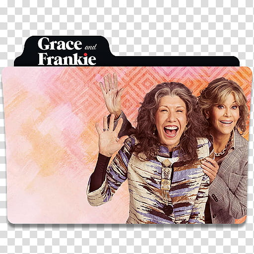 Grace and Frankie Folder Icon, Grace and Frankie Design.