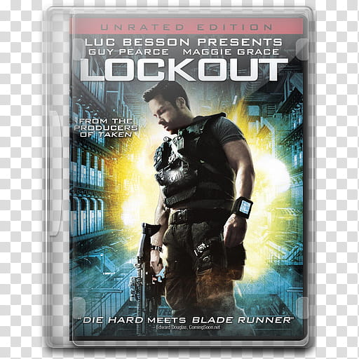 Best SciFi Movies Of , Lockout transparent background PNG.