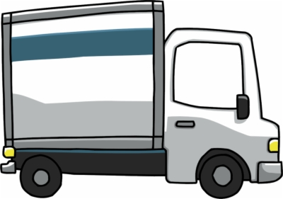 moving truck , Free clipart download.
