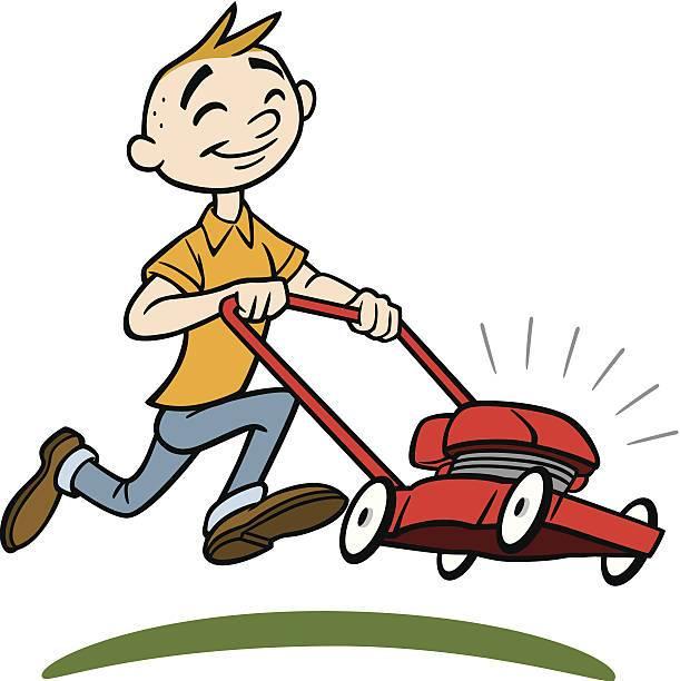 Mowing lawn clipart 4 » Clipart Portal.