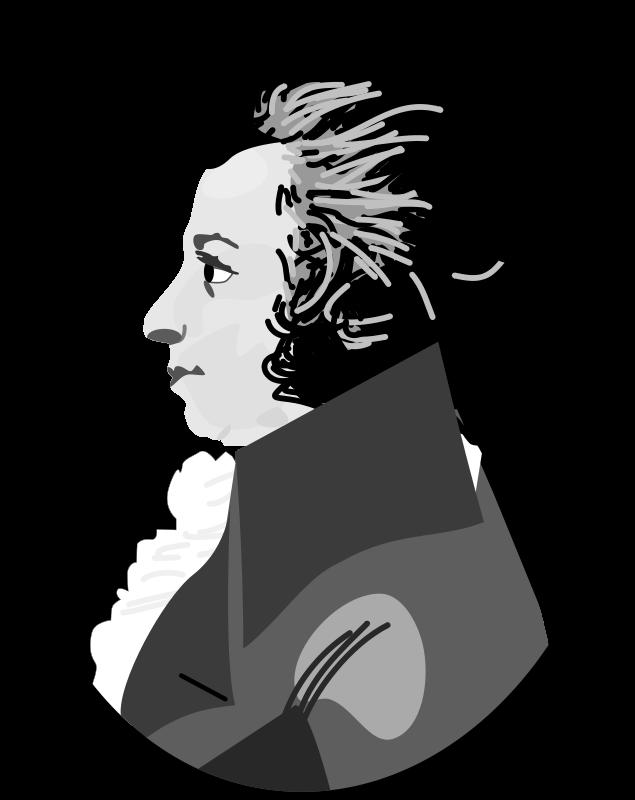 Free Clipart: Mozart.