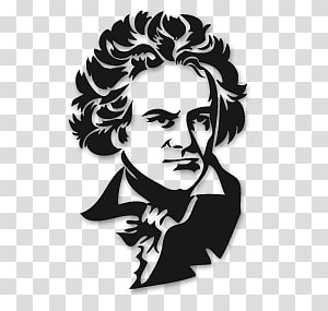 Ludwig Van Beethoven PNG clipart images free download.