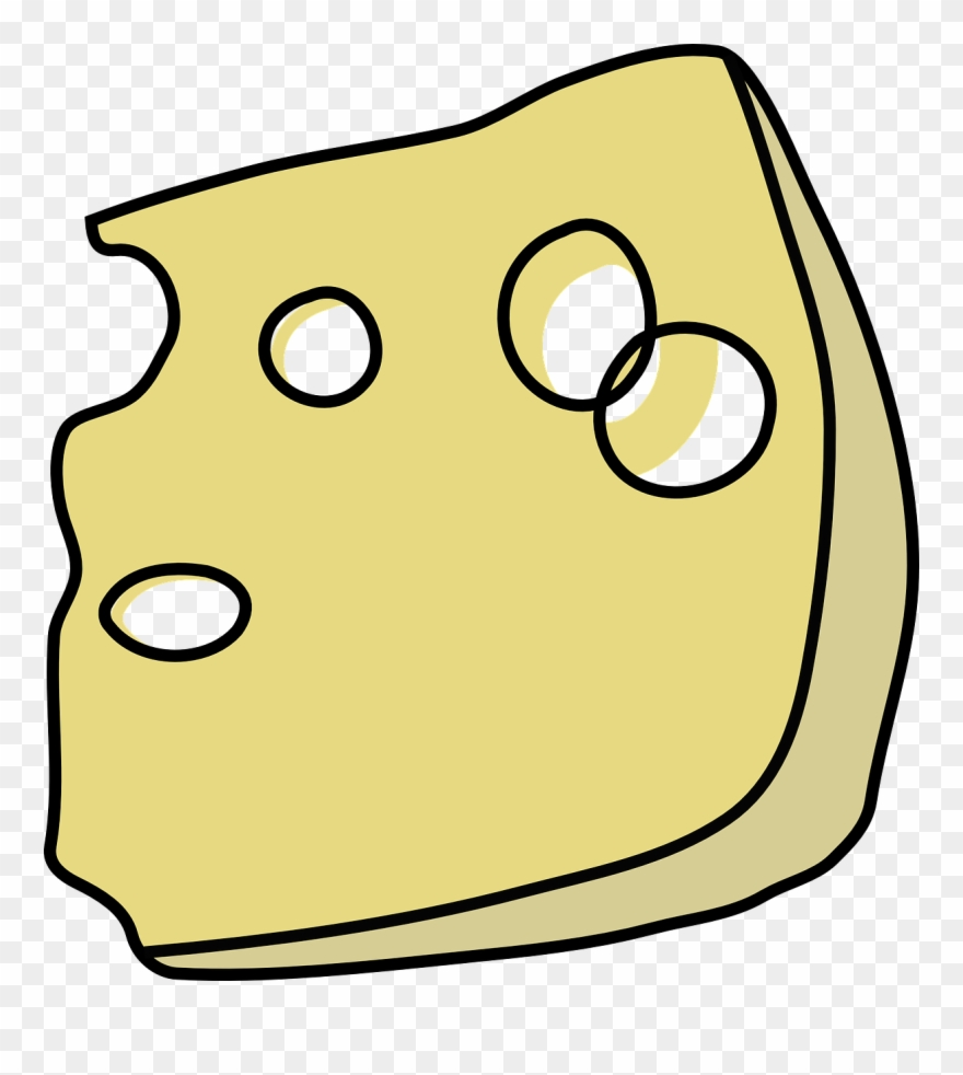 Cheese Clip Art Image.