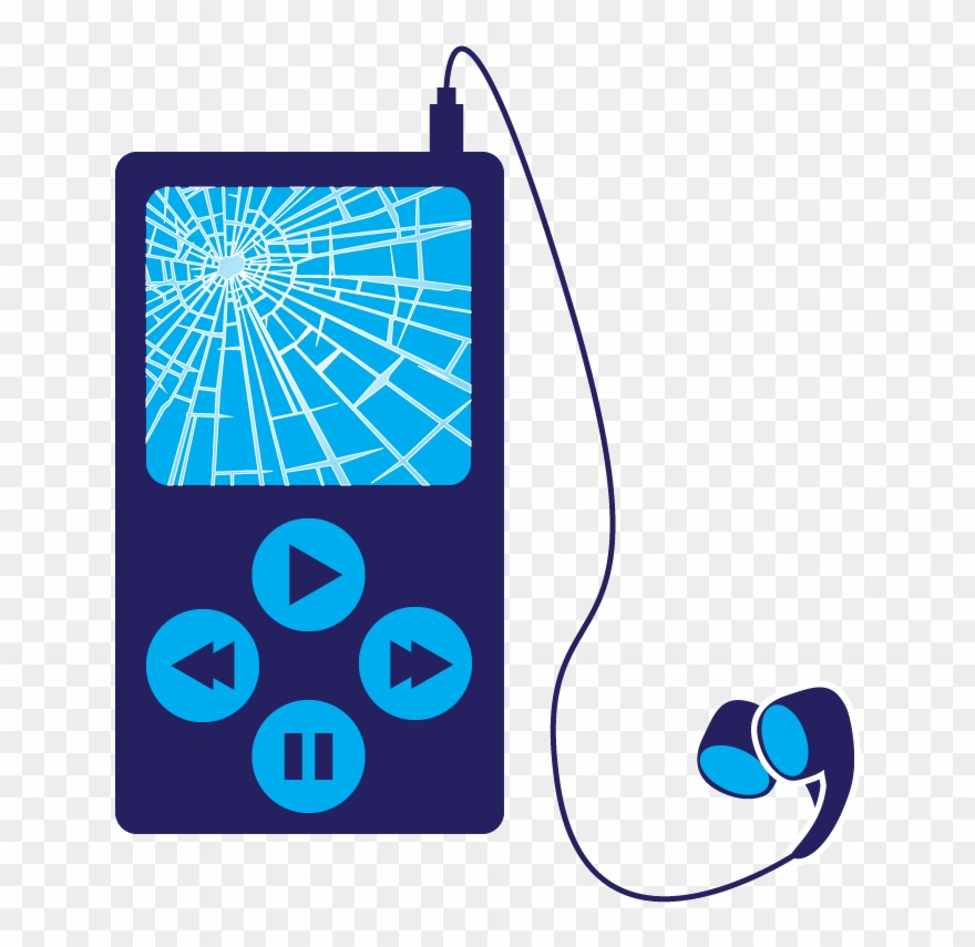 Download Mp3 Player Clipart Mp3 Players Clip Art Blue.
