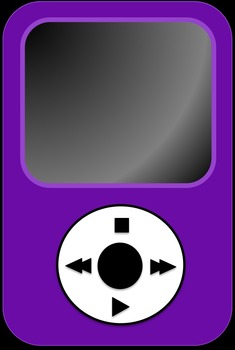 MP3 Player Clipart.