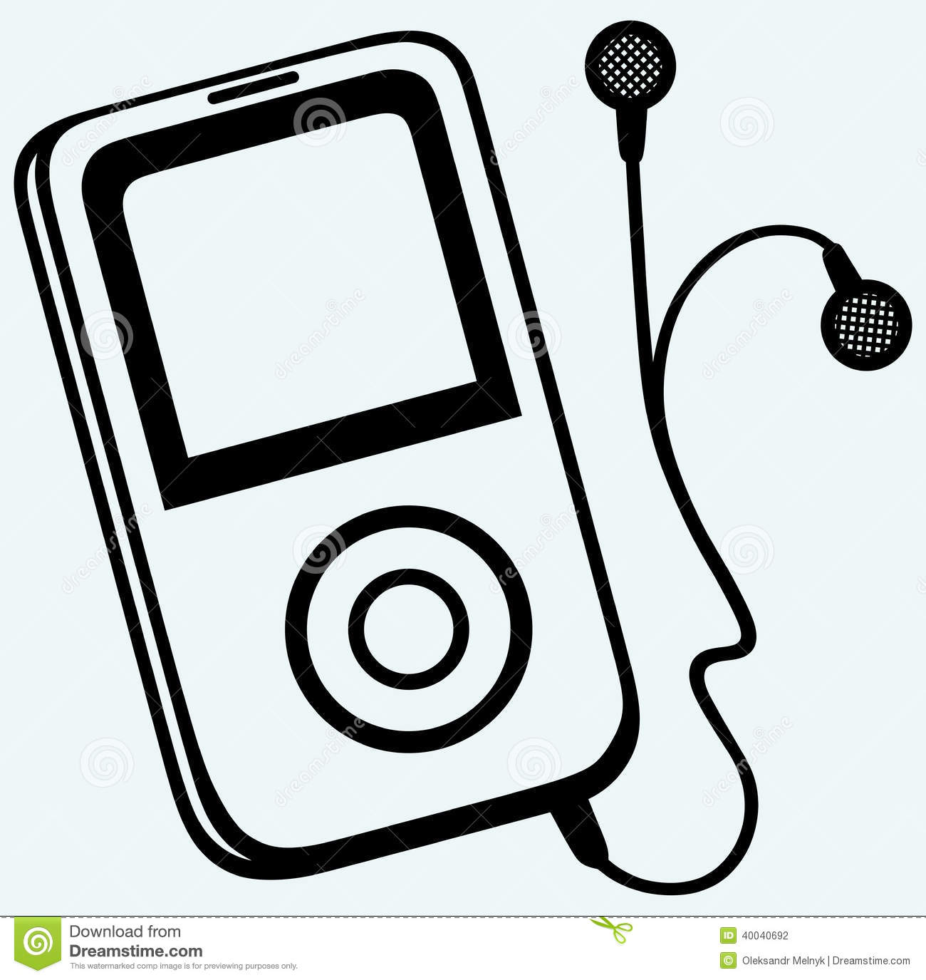 Mp3 player clipart 2 » Clipart Station.