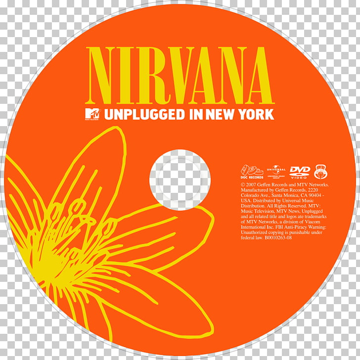 The Nirvana Logo MTV Unplugged in New York, Unplugged PNG.