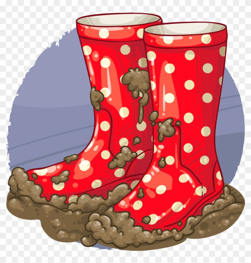 Puddle Clipart Muddy Welly.