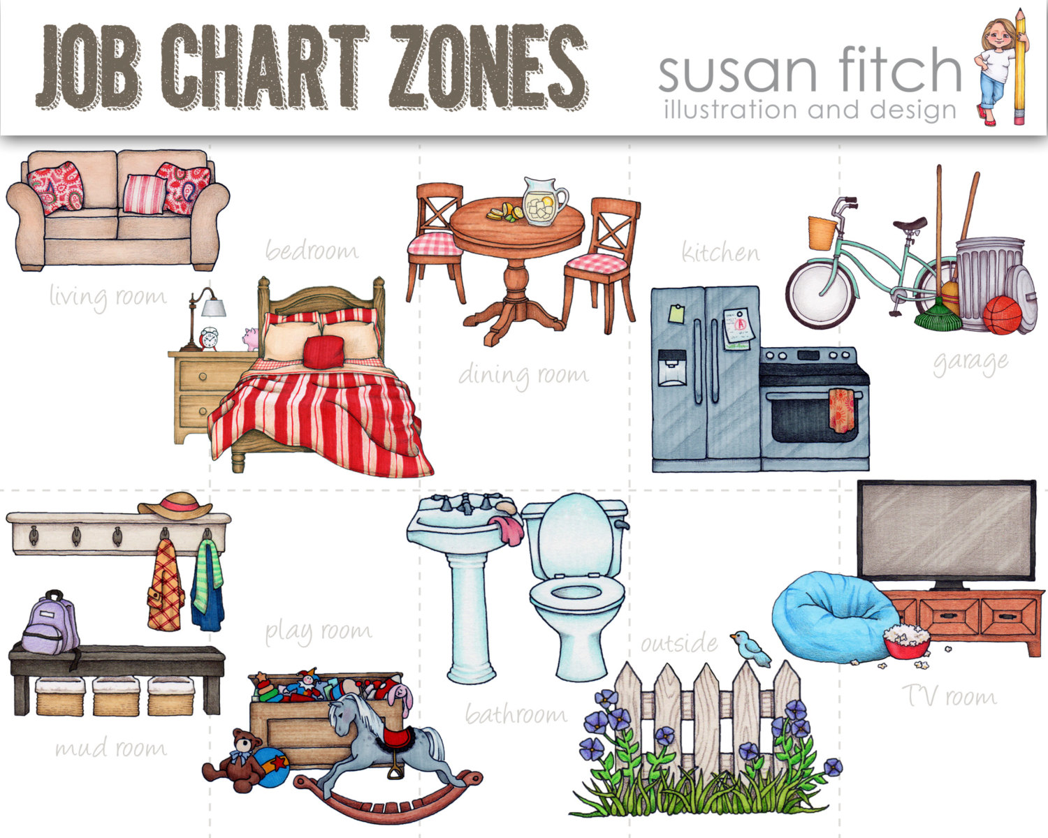 Chores clipart cleaning, Chores cleaning Transparent FREE.
