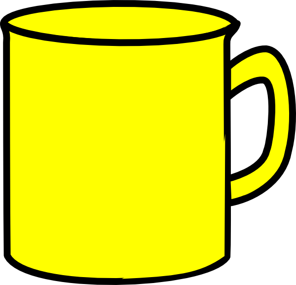 Yellow Mug Clip Art at Clker.com.