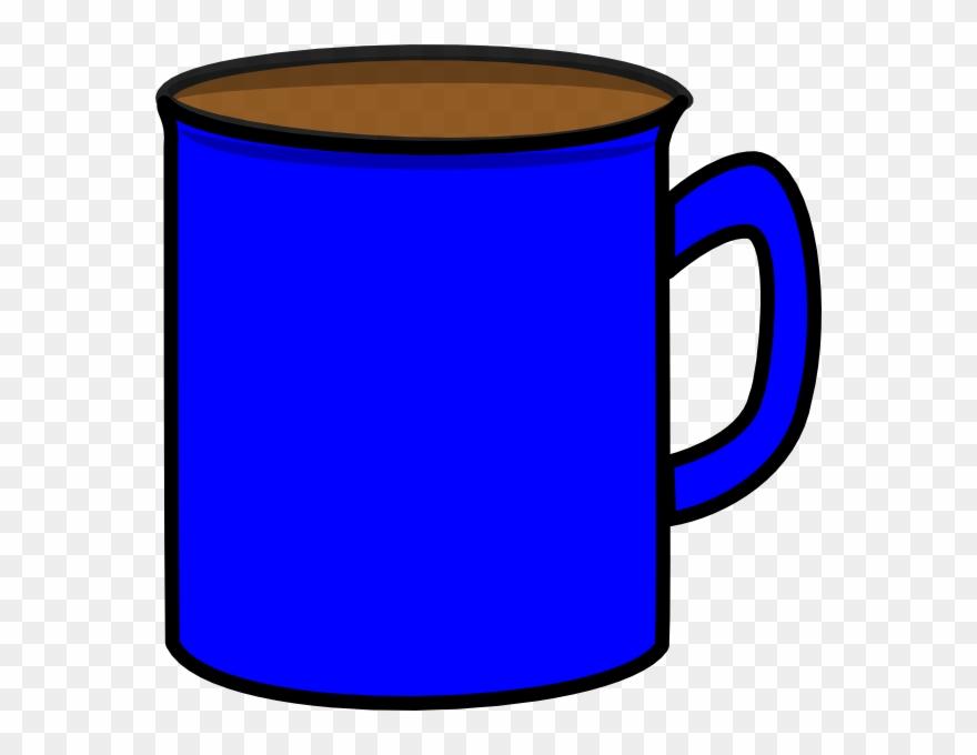 Blue Mug Clipart.