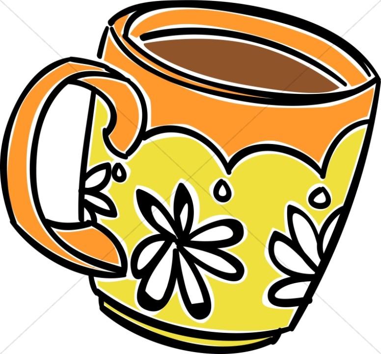 Fun Daisy Coffee Mug.