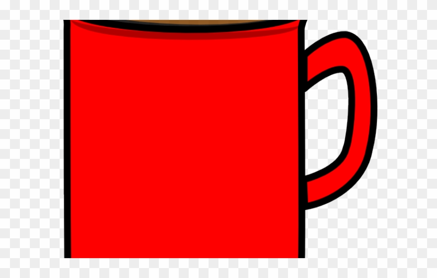 Mug Clipart Red Mug.