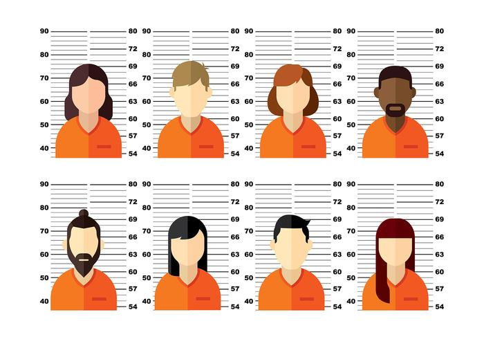 Mugshot Vector People Two.
