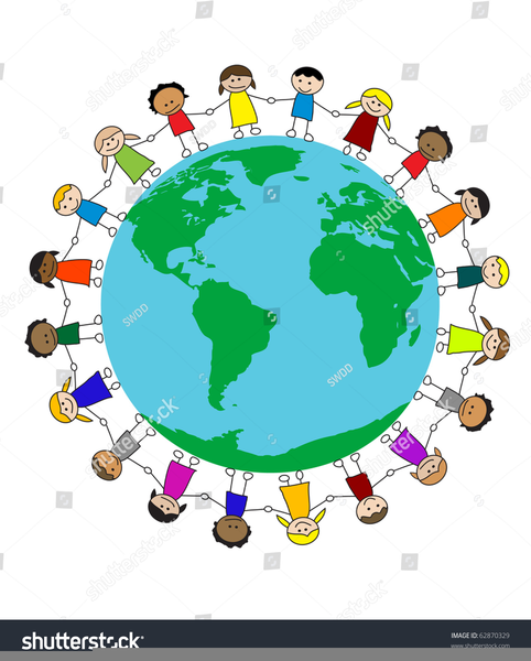 Free Multicultural Clipart Borders.