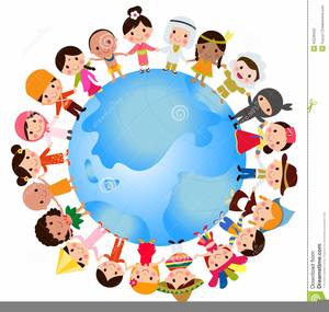 Multicultural Education Clipart.