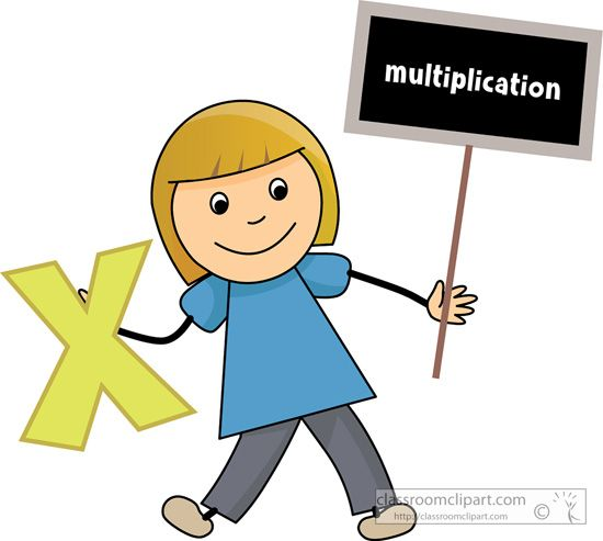 Sign clipart multiplication #8.