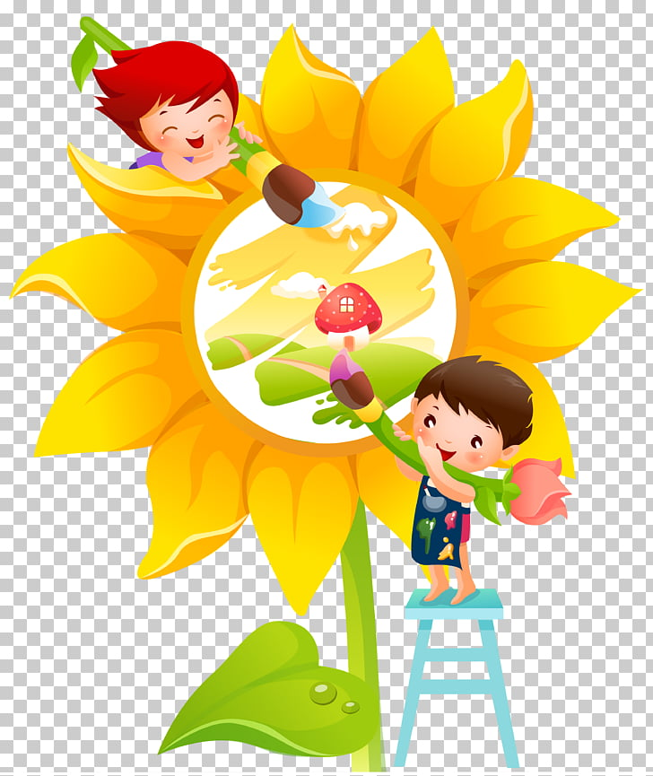 Mural Painting Nursery school Wall, painting PNG clipart.