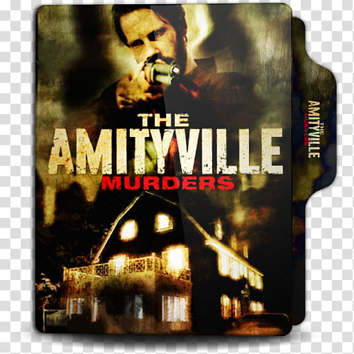 The Amityville Murders folder icon, Templates transparent.