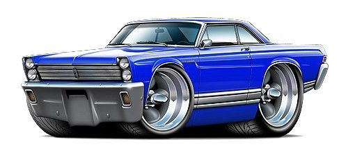 Muscle Car Clipart #42031.