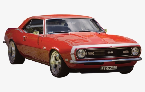 Free Classic Muscle Car Clip Art with No Background.