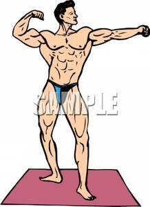 Muscular Clipart.