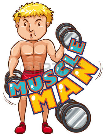 26,577 Muscle Man Stock Vector Illustration And Royalty Free.