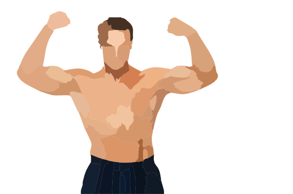 Pic Muscular Man Clip Art at Clker.com.