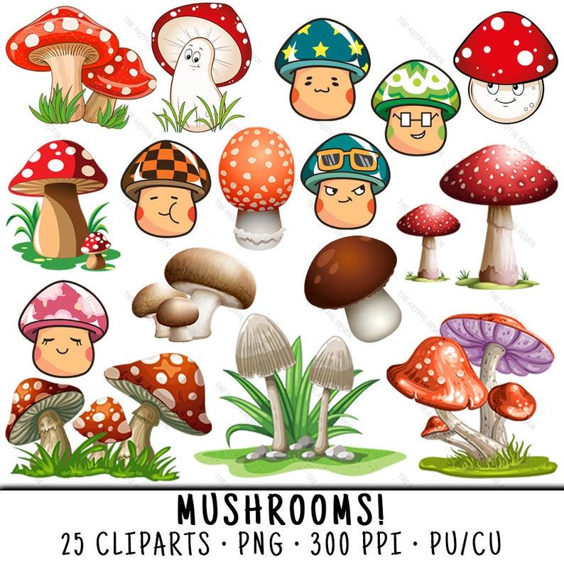 Mushroom Clipart, Mushroom Clip Art, Clipart Mushroom, Clip Art Mushroom,  Cute Mushroom PNG, PNG Cute Mushroom, Cute Mushroom.