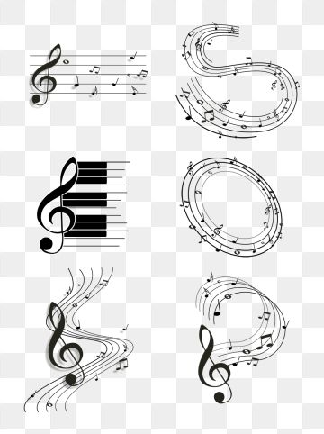 Musical Notes Syllabary Melody Music Festival Artistic.