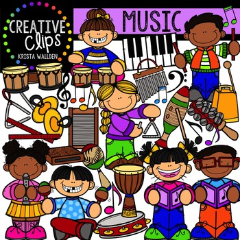 Music {Creative Clips Digital Clipart}.