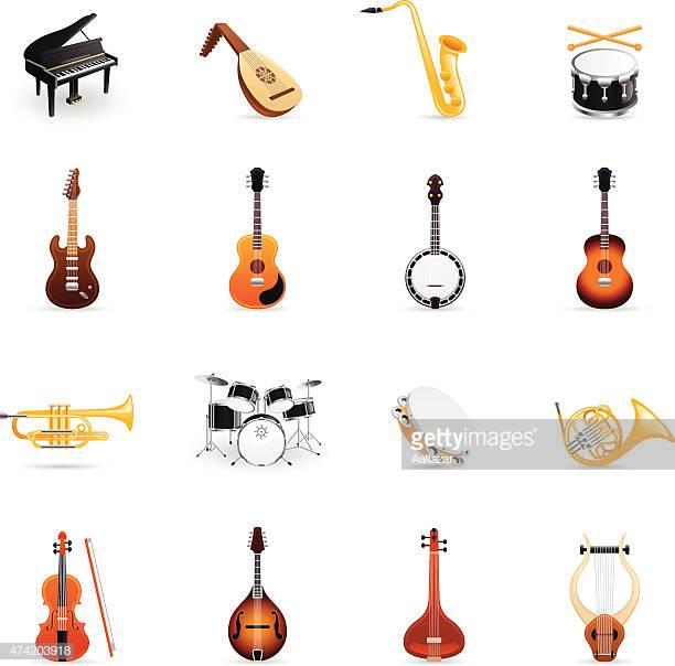 60 Top Musical Instrument Stock Illustrations, Clip art, Cartoons.