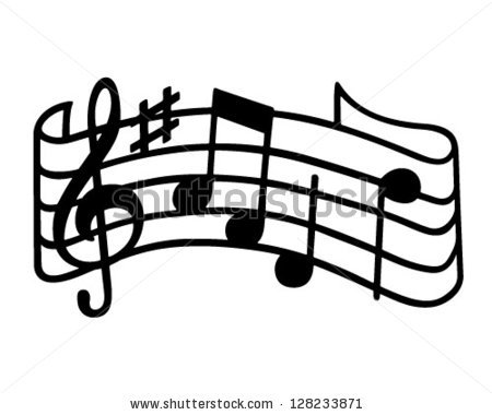 Music Clipart Logo.
