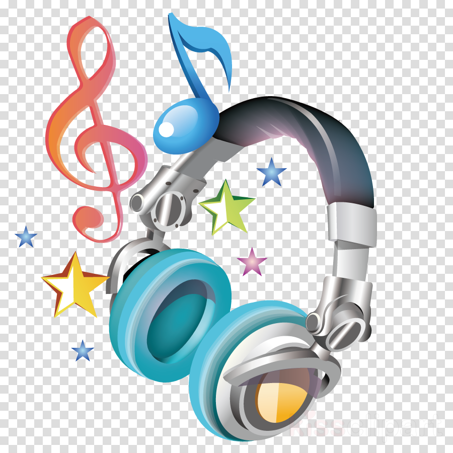 Headphones Cartoon clipart.