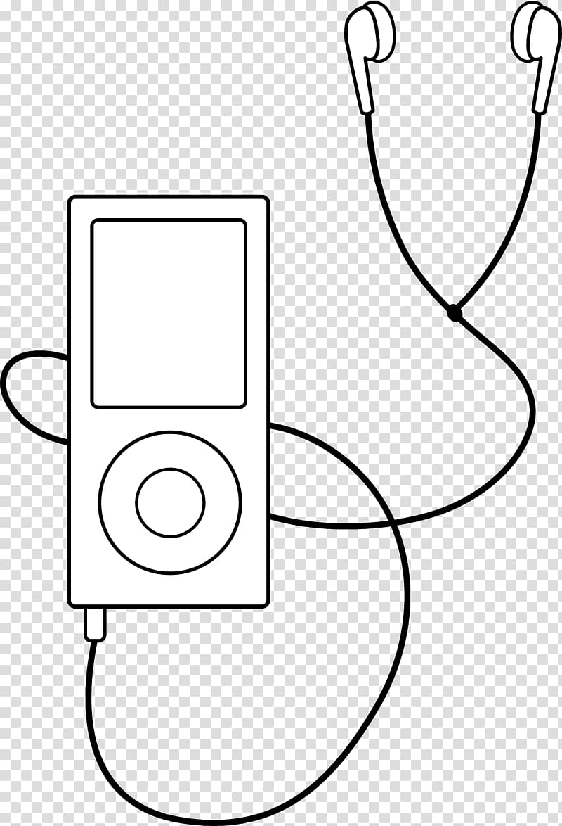 MP3 player Media player , Listening To Music transparent.