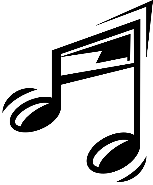 Musical Note Clip art.