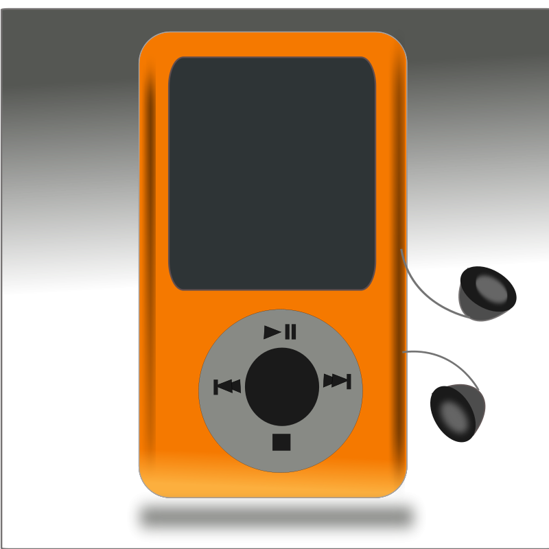 Free Clipart: Netalloy music player.