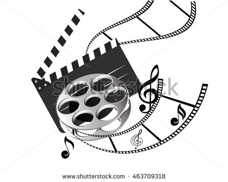 Music Video Clipart.