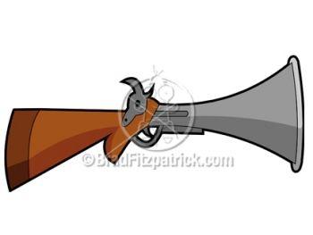 cartoon musket.