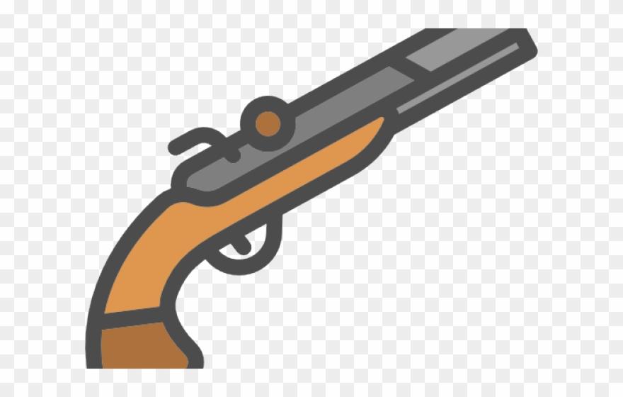 Musket Gun Clipart.