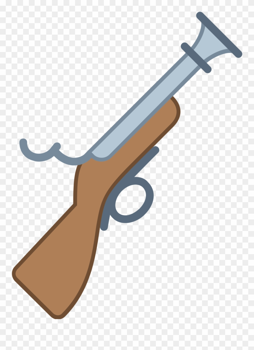 Musket Icon Clipart (#2842074).