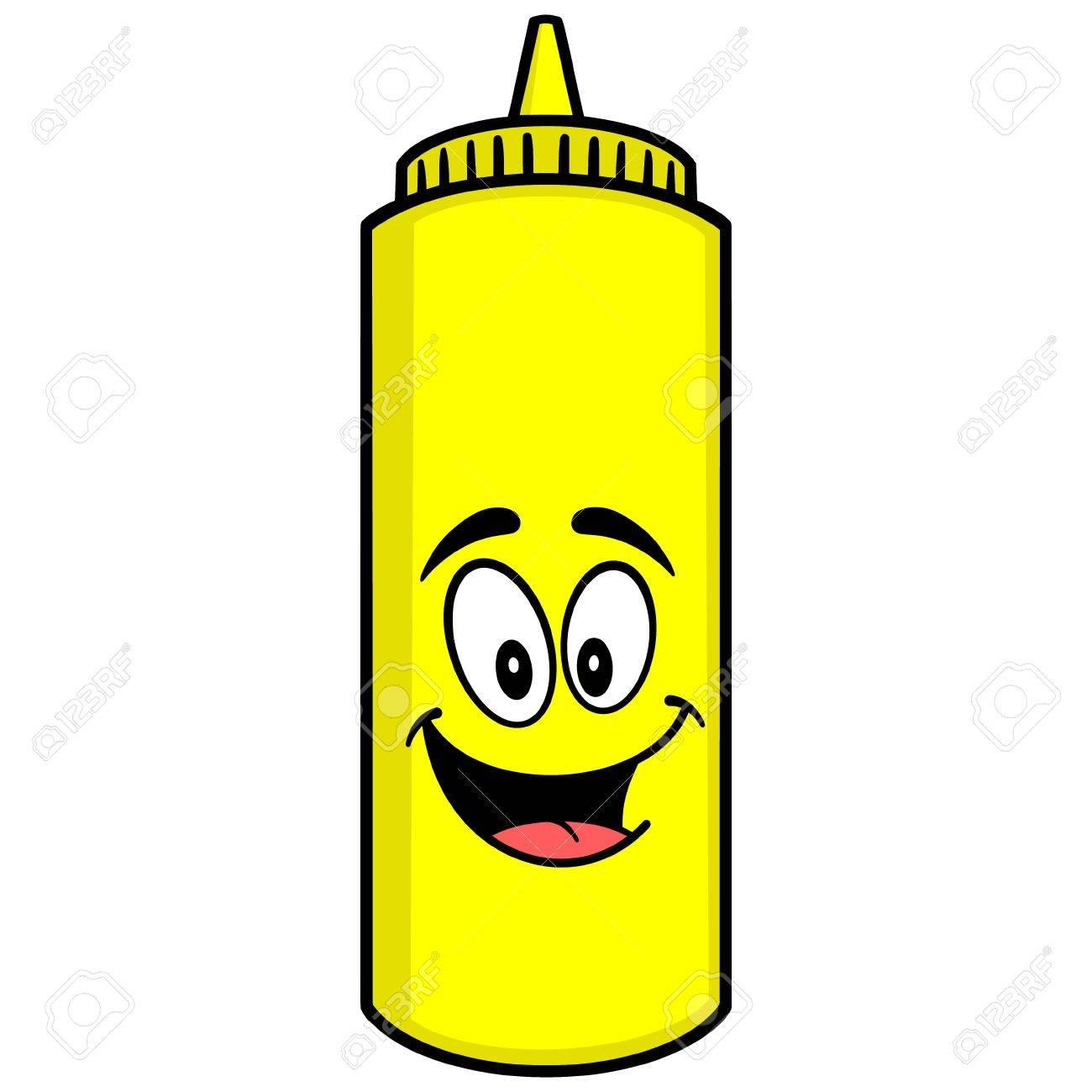 Mustard Mascot.