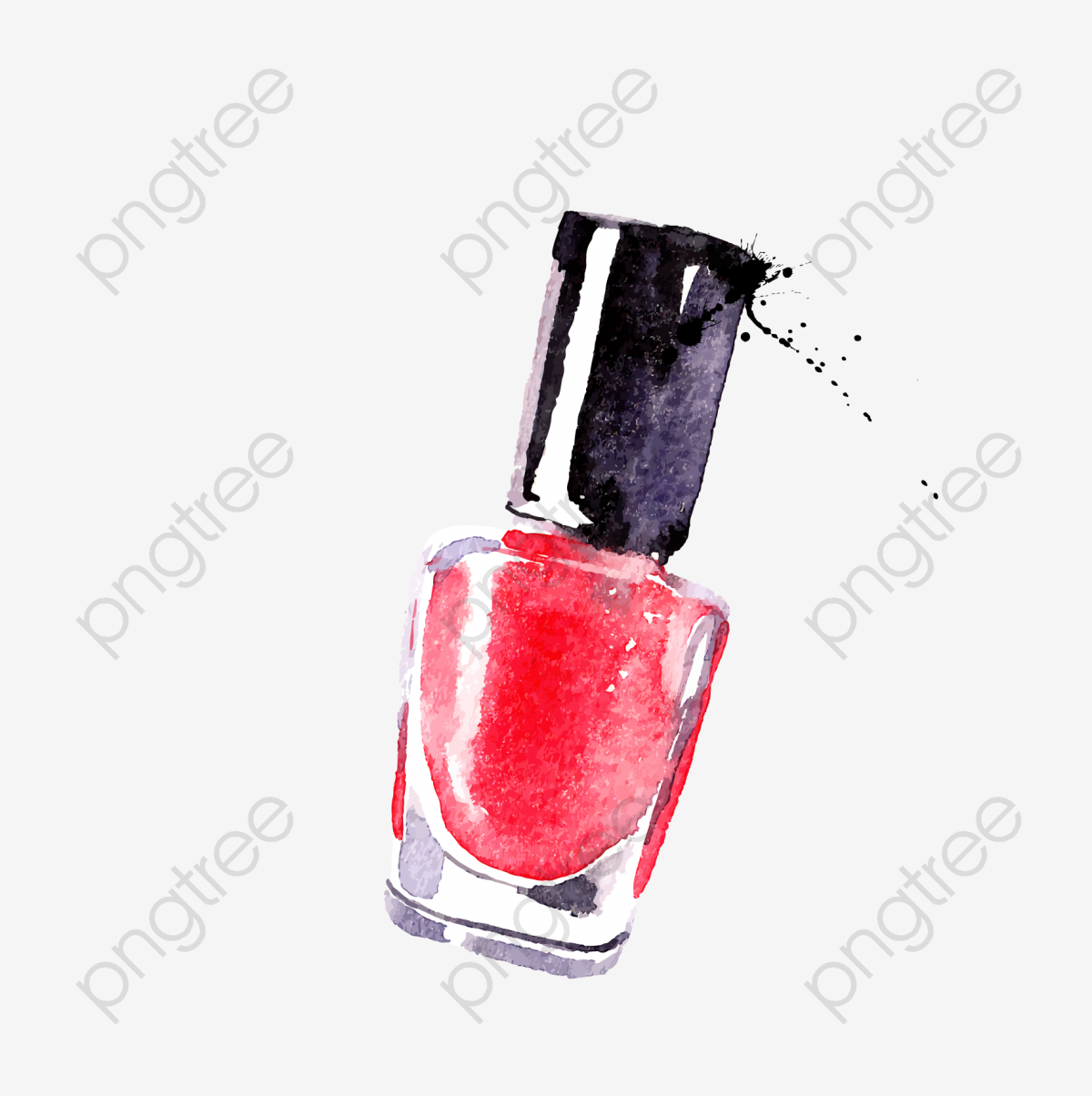 Drawing Nail Polish, Nail Clipart, Nail Ad, Nail PNG Transparent.