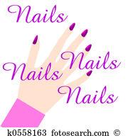 Nail salon Illustrations and Clip Art. 153 nail salon royalty free.