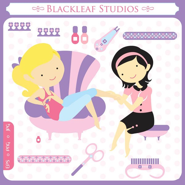 Clipart Nail Spa Clipground