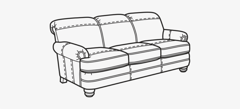 Nuvo Sofa Without Nailhead Trim.