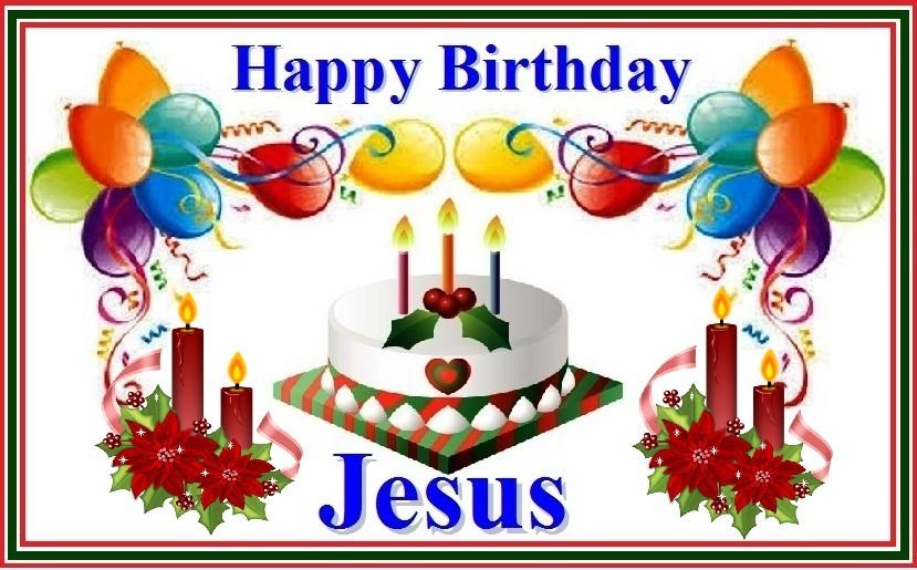 Clipart Name Happy Birthday Jesus.