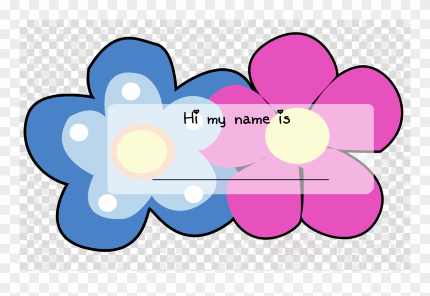 Violet Name Tag Clipart Name Tag Paper Clip Art.